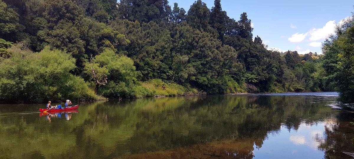 Canoeing-Whanganui-River
